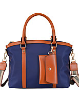 cheap -Women's Bags Oxford Cloth Tote Shopping Daily Date Handbags khaki Black Red Navy Blue