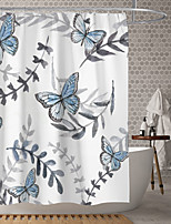 cheap -Waterproof Fabric Shower Curtain Bathroom Decoration and Modern and Classic Theme and Floral / Botanicals.The Design is Beautiful and DurableWhich makes Your Home More Beautiful.