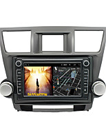 cheap -Android 9.0 Autoradio Car Navigation Stereo Multimedia Player GPS Radio 8 inch IPS Touch Screen for Toyota Highlander 2009-2012 1G Ram 32G ROM Support iOS System Carplay