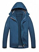 cheap -Men's Hiking 3-in-1 Jackets Ski Jacket Hiking Fleece Jacket Polar Fleece Winter Outdoor Thermal Warm Windproof Quick Dry Lightweight Hoodie Windbreaker Trench Coat Skiing Ski / Snowboard Fishing Male