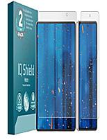 cheap -iq shield matte screen protector compatible with samsung galaxy z fold 3 (2-pack) anti-glare anti-bubble film