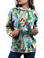 cheap -Women's Pullover Hoodie Sweatshirt Hoodies Set Camo / Camouflage Pocket Print Casual Daily 3D Print Basic Streetwear Hoodies Sweatshirts  Green