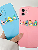 cheap -Phone Case For Apple Back Cover iPhone 12 Pro Max 11 SE 2020 X XR XS Max 8 7 Shockproof Dustproof Graphic Solid Colored TPU