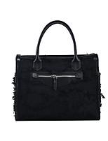 cheap -Women's Bags Canvas Top Handle Bag Date Office & Career 2021 Black Beige