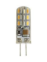 cheap -10pcs 5pcs 1pc 1 W LED Bi-pin Lights 100 lm G4 24 LED Beads SMD 3014
