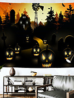 cheap -Halloween Wall Tapestry Art Decor Blanket Curtain Hanging Home Bedroom Living Room Decoration