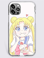 cheap -Sailor Moon Cartoon Characters Phone Case For Apple iPhone 13 12 Pro Max 11 X XR XS Max iPhone 12 Pro Max 11 SE 2020 X XR XS Max 8 7 Unique Design Protective Case Shockproof Dustproof Back Cover TPU