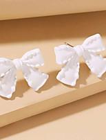 cheap -Women's Drop Earrings Earrings Classic Birthday Romantic Classic Cowboy Hip Hop Sweet Earrings Jewelry White For Gift Formal Date Promise Festival 1 Pair