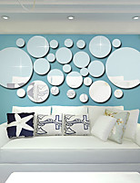 cheap -3D Circle Art Removable Wall Sticker Acrylic Mural Decal Home Room Decor Hot Decorative Stickers