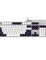 cheap -AJAZZ AK35I USB Wired Mechanical Keyboard Gaming Mechanical Monochromatic Backlit 104 pcs Keys