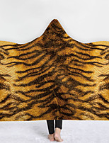 cheap -2021 New Hooded Blanket Cape Thick Double Layer Plush 3d Digital Printing Animal Skin Pattern Series