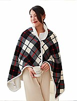 """cheap -electric heated blanket and throws cordless wrap shawl for women,machine washable warm knee pads portable heated blanket shawl usb heated shawl battery operated electric heated blanket,59""""x33"""""""