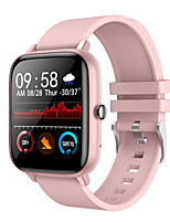cheap -696 SB-P6 Unisex Smart Wristbands Fitness Band Bluetooth Heart Rate Monitor Blood Pressure Measurement Calories Burned Hands-Free Calls Information Stopwatch Pedometer Call Reminder Sleep Tracker