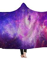cheap -Cross-border hooded Blanket cloak Magic Hat Blanket Child Blanket Nesta Blanket wearing Hat Blanket Starry New