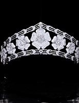 cheap -High-end Retro Crown Royal Princess Wedding Headdress Bride Married Zircon Crown Wedding Accessories