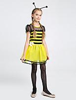cheap -halloween children's day cosplay children's costume girls new bee costumes bee fairy costumes