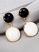 cheap -Women's Drop Earrings Earrings Stylish Cartoon Classic Korean Hip Hop Earrings Jewelry White For Gift Formal Date Festival 1 Pair
