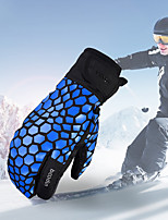 cheap -Ski Gloves Snow Gloves for Women Men Touchscreen Thermal Warm Waterproof PU Leather Mittens Snowsports for Cold Weather Winter Skiing Snowboarding