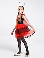 cheap -children's day costumes cosplay children's costumes girls pretty ladybug fairy costume dresses