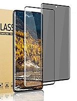 cheap -[2 pack] galaxy s21 plus 5g screen protector, privacy/hd tempered glass film [full coverage] [9h hardness] [ fingerprint unlock] compatible samsung galaxy s21 plus /s21+