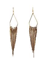 cheap -Women's Earrings Link / Chain Fashion Stylish Earrings Jewelry Silver / Gold / Black For Date Festival 1 Pair