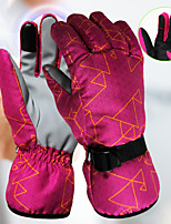 cheap -Ski Gloves Snow Gloves for Women Touchscreen Thermal Warm Waterproof PU Leather Full Finger Gloves Snowsports for Cold Weather Winter Skiing Snowboarding