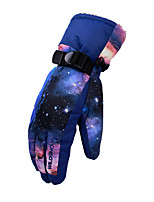 cheap -Ski Gloves Snow Gloves for Men's Thermal Warm Waterproof Windproof Woven TPU Thinsulate Full Finger Gloves Snowsports for Cold Weather Winter Skiing Snowsports Snowboarding