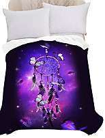 cheap -Microfiber Throw Blanket All Season For Couch Chair Sofa Bed Picnic 3D Print Dreamcatcher Sky/Galaxy Soft Fluffy Warm Cozy Plush Autumn Winter