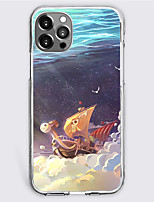 cheap -One Piece Cartoon Characters Phone Case For Apple iPhone 13 12 Pro Max 11 X XR XS Max iPhone 12 Pro Max 11 SE 2020 X XR XS Max 8 7 Unique Design Protective Case Shockproof Dustproof Back Cover TPU