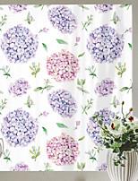 cheap -Hydrangeas Pattern Matte Window Film Cling Vinyl Thermal-Insulation Privacy Protection Home Decor For Window Cabinet Door Sticker Window Sticker - 58*60CM