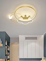 cheap -LED Ceiling Light 45/55 cm Circle Design Flush Mount Lights Metal Artistic Style Modern Style Stylish Painted Finishes LED Modern 220-240V