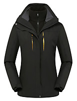 cheap -Women's Hiking 3-in-1 Jackets Ski Jacket Hiking Fleece Jacket Winter Outdoor Thermal Warm Waterproof Windproof Quick Dry Outerwear Winter Jacket Trench Coat Skiing Ski / Snowboard Fishing