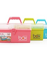 cheap -Multi-function Store Content Box Fold to Receive Translucent Desing 26.8*15.5*24.8cm