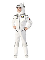 cheap -Uniforms Cosplay Costume Kid's Boys' Halloween Halloween Halloween Festival / Holiday Polyster White Easy Carnival Costumes Solid Color / Leotard / Onesie / Hat