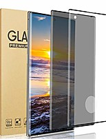 """cheap -[2 pack ] galaxy note 10 plus screen protector, privacy + hd [9h hardness][anti-scratch][3d full coverage] tempered glass screen protector, for samsung galaxy note 10 plus/note 10+ (6.8"""")"""