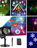cheap -Projector Light Remote Controlled Waterproof Projector Party Bedroom Multi-colors Bedroom Decor Halloween Gift