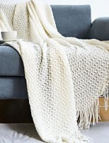 cheap -simple solid color air-conditioning blanket, light luxury style blanket, sofa blanket, office nap blanket, interior decoration blanket