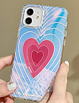 cheap -Phone Case For Apple Back Cover iPhone 12 Pro Max 11 SE 2020 X XR XS Max 8 7 Shockproof Dustproof Graphic Heart TPU