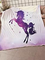 cheap -Cross border Hooded Blanket Air conditioning Blanket Kids Blanket Nesta Blanket Baby Blanket Unicorn Series
