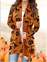 cheap -Witch Pumpkin Coat Cosplay Costume Adults' Women's Cartoon Halloween Party Halloween Halloween Carnival Masquerade Festival / Holiday Acrylic Fibers Orange Women's Easy Carnival Costumes Cartoon