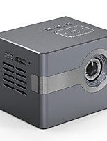 cheap -Factory Outlet C50 DLP Projector WIFI Projector Keystone Correction Manual Focus Video Projector for Home Theater 720P (1280x720) 3000 lm Compatible with iOS and Android TV Stick HDMI USB