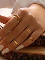 cheap -Ring Classic Gold Alloy Joy Simple Elegant Fashion 1 set One Size / Women's