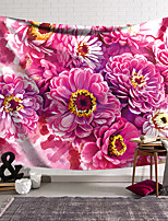 cheap -Flower Portrait Wall Tapestry Art Decor Blanket Curtain Hanging Home Bedroom Living Room Decoration Polyester