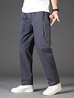 cheap -Men's Hiking Pants Trousers Outdoor Breathable Sweat wicking Wear Resistance Scratch Resistant Pants / Trousers Bottoms khaki Black Dark Gray Army Green Fishing Climbing Running L XL XXL XXXL 4XL