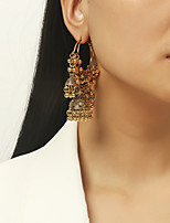 cheap -Women's Earrings Geometrical Floral Theme Joy Stylish Simple Earrings Jewelry Gold For Daily Holiday Promise 1 Pair