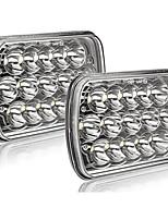 cheap -OTOLAMPARA 2PCS 150W Rectangle H6054 LED Headlights 5x7 7x6 Headlamp Hi/Low Sealed Beam H4 9003 Plug 6054 H5054 Compatible with S10 Blazer Express Van/Wrangler YJ XJ Cherokee Truck Van 2PCS