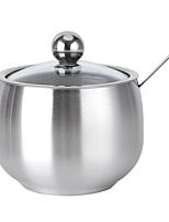 cheap -Seasoning Pot for Kitchen Stainless Steel Creative Seasoning Pot