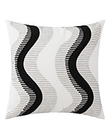 cheap -nordic embroidery cotton canvas chain embroidered ins pillow cushion cover model room car sofa chair cushion wholesale
