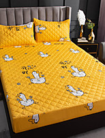 cheap -Foreign Trade Cross-border Cotton Quilted Breathable Waterproof Bed Sheet One-piece Mattress Cover Urine And Dustproof Mattress Protection Cover Urine Insulation Pad