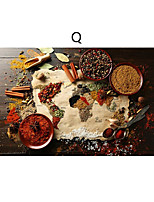 cheap -Wall Art Canvas Prints Painting Artwork Picture Food Still Life Spices Home Decoration Decor Rolled Canvas No Frame Unframed Unstretched